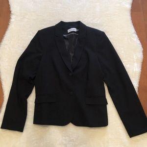 Calvin Klein Black Classic Blazer